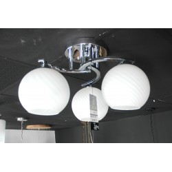 CEILING LAMP GLASS 3BULBS