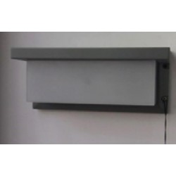 OUTDOOR WALL LAMP GREY COLOR