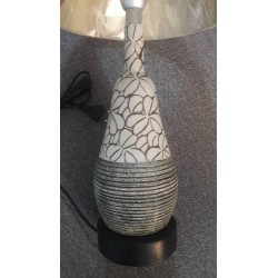 BEST PRICE OF SERAMIC TABLE LAMP IN BROWN
