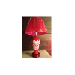 TABLE LAMP 340*530 IN RED